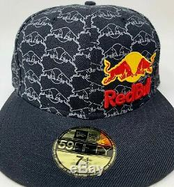 Red Bull New Era Athlete Only Hat Fitted NewEra 59Fifty Size 7 1/4 Deadstock