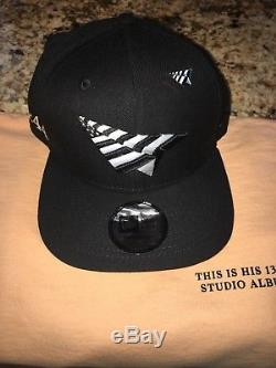 Roc Nation New Era Paper Planes Snapback Hat 444 Tour Jay-z Hat With Pin