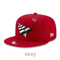 Roc Nation Paper Planes with Pin Authentic New Era 9Fifty Snapback Cap Red