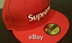SS17 Supreme Box Logo Playboy New Era Fitted Hat