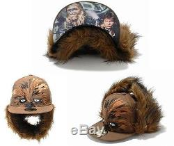 STAR WARS X NEW ERA 2016 59FIFTY COLLECTION CHEWBACCA SPECIAL EDTION & AVAIL