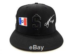 SUPREME NEW YORK 94 NEVER RAT BLACK NEW ERA FITTED HAT VINTAGE 2006 Money $ Rare