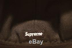 SUPREME x NEW ERA PUBLIC ENEMY BLACK FITTED HAT 7 1/2 RARE FREE SHIPPING