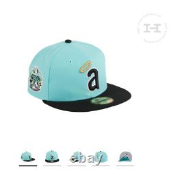Size 7 3/8 Hat Club Exclusive Los Angeles Angels 35th Anniversary Mint, Black
