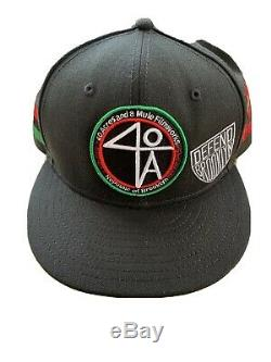 Spike Lee 40 Acres Fitted Hat