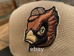 St. Louis Cardinals 125th Anniversary Camel New Era Fitted Hat 7 7/8 Brown UV