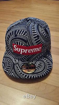 Supreme New Era 59Fifty UpTown Box Logo Fitted Hat