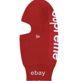 Supreme/ New Era Balaclava Red Os (IN HAND) FW20 WEEK 17 Brand New AUTHENTIC