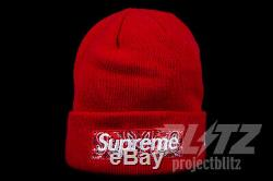 Supreme New Era Box Logo Beanie Red Fw19 Bandana Navy Black Grey Pink Box Logo