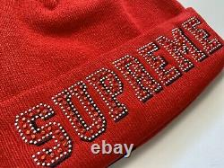 Supreme New Era Gems Beanie Red SS20 Box Logo Confirmed