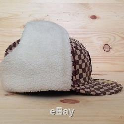 Supreme Ny Monogram Checkered New Era Fitted Hat Yankees Box Logo F/w 2006 7 5/8