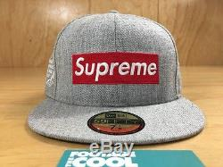 Supreme x New Era National Champions Box Logo Fitted Hat 7 3/8 SS 2012 TNF CDG