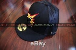 The Hundreds New Era XL X-large Hat Cap 7 1/2 Yellow Leather Bill Supreme Bape