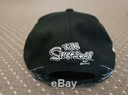 The Simpsons Bart and Lisa Skeletons New Era 9Fifty Snapback Cap M/L RARE