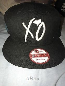 The Weeknd XO Coachella Festival Hat Limited edition exclusive 1/20 MADE! RARE