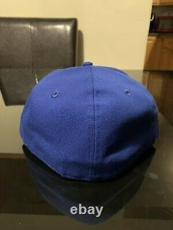 Toronto Blue Jays 93 New Era Fitted Hat Club Exclusive Pink Bottom UV Cap 7 5/8