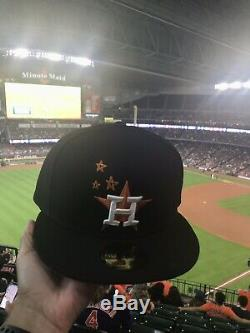 Travis Scott Houston Astros (AVAILABLE NOW)Limited Edition Hat Size 7 3/8 Black