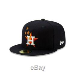 Travis Scott Houston Astros Navy 59FIFTY Fitted Size 7 3/4 Authentic SOLD OUT