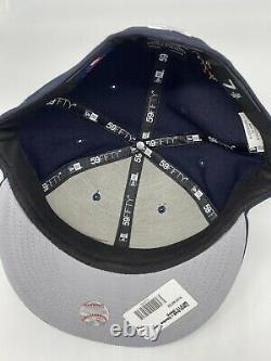 Travis Scott X Houston Astros Navy 59fifty Fitted 7 5/8 New Cactus Jack