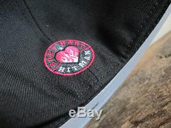 WWE Bret The Hitman Hart 59FIFTY New Era Fitted Cap sz 7 1/2 rare hat wwf